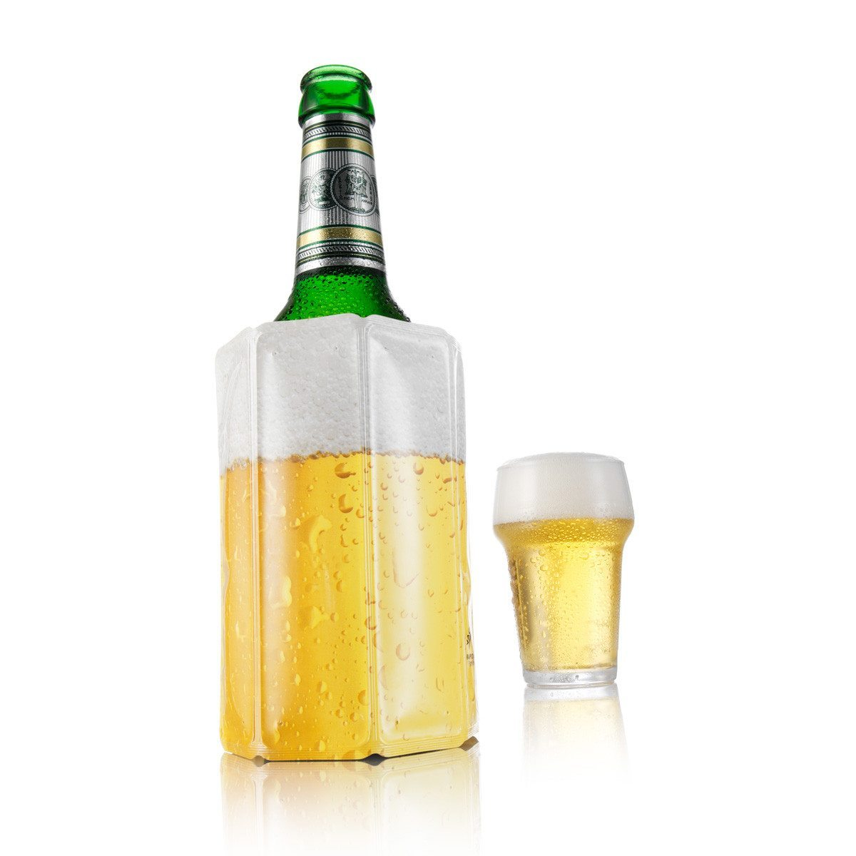 1, 2, kalt - Aktiv-Kühler für Bier