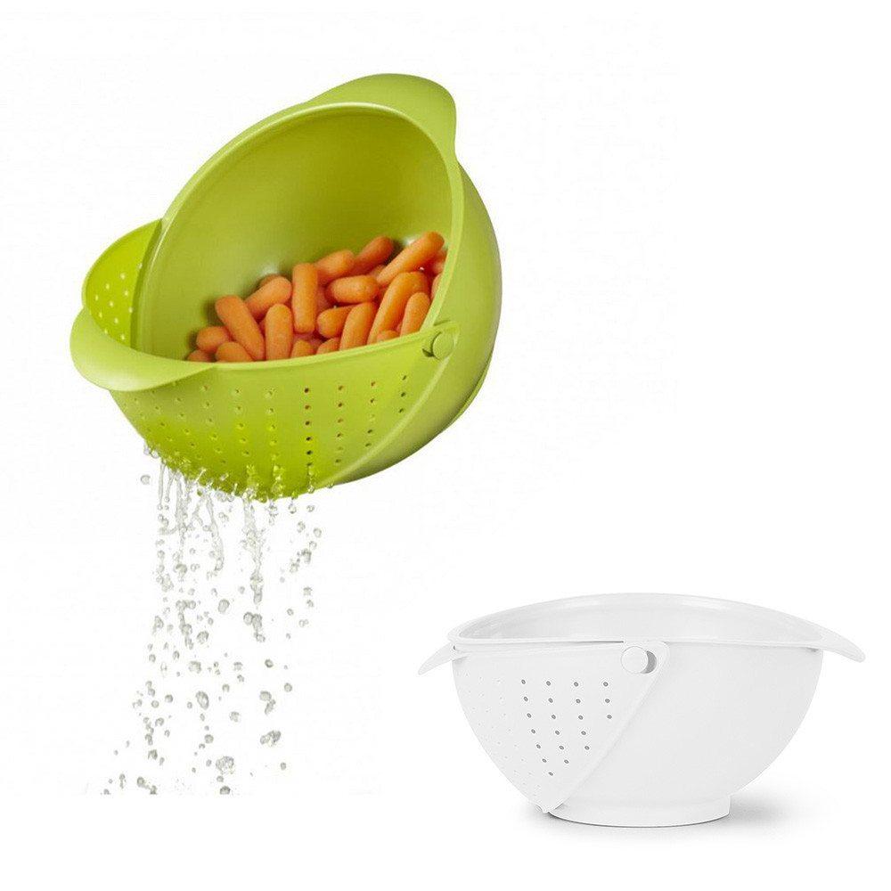 2in1: Küchenschüssel & Sieb