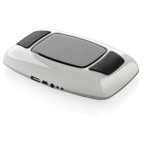 2in1: Lautsprecher & Solar-Ladegerät