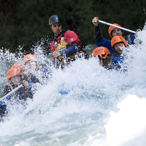 52 km descenso de Rafting Llavorsi a Collegats- Lleida