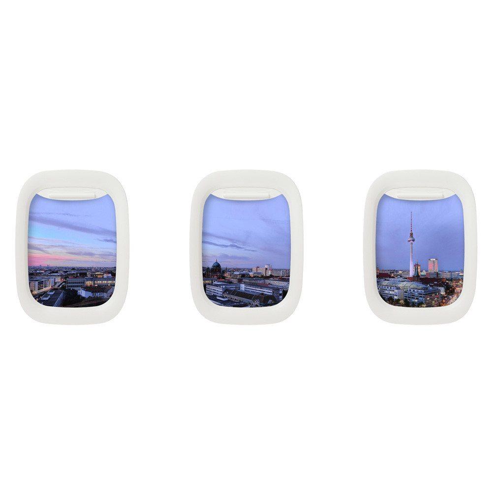 Air Frames - witzige Flugzeugfenster Bilderrahmen
