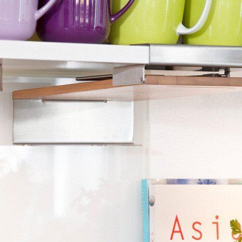 Apoya libros de cocina personalizable - ¡Ahorra espacio!