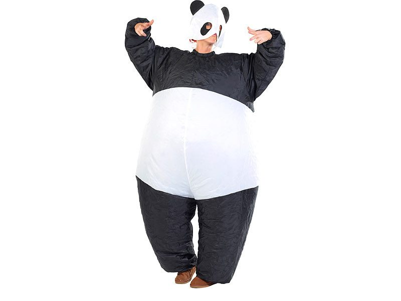 """Aufblasbares Kostüm """"Panda"""""""