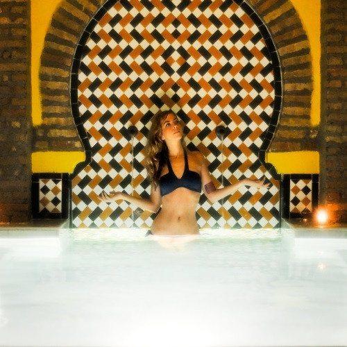 Baño árabe y masaje especial para esquiadores - Granada