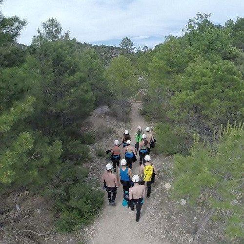 Barranquismo en el Ventano del Diablo - Cuenca