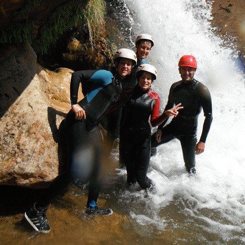 Barranquismo en familia - Castellón