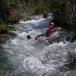 Barranquismo en Jucar - Cuenca