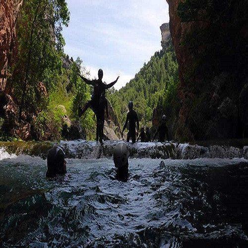Barranquismo en Poyatos - Cuenca