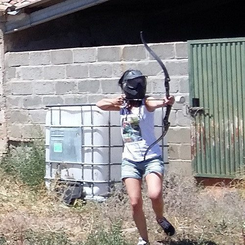 Batalla de arqueros en grupo - Salamanca