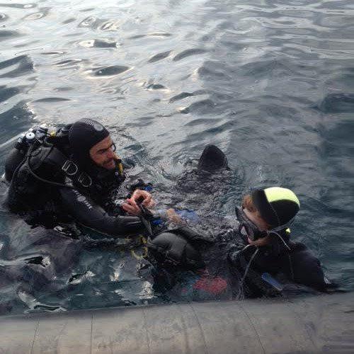 Bautismo de buceo en Argeles sur Mer – Prineos Orientales