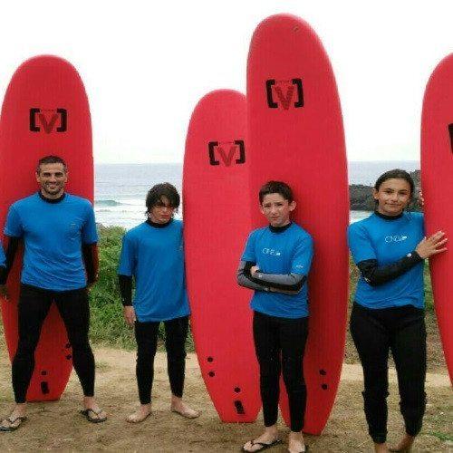 Bautismo de Surf - Asturias