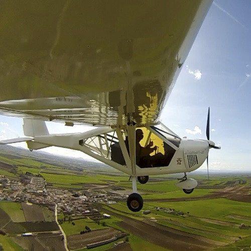 Bautismo de vuelo en Toledo