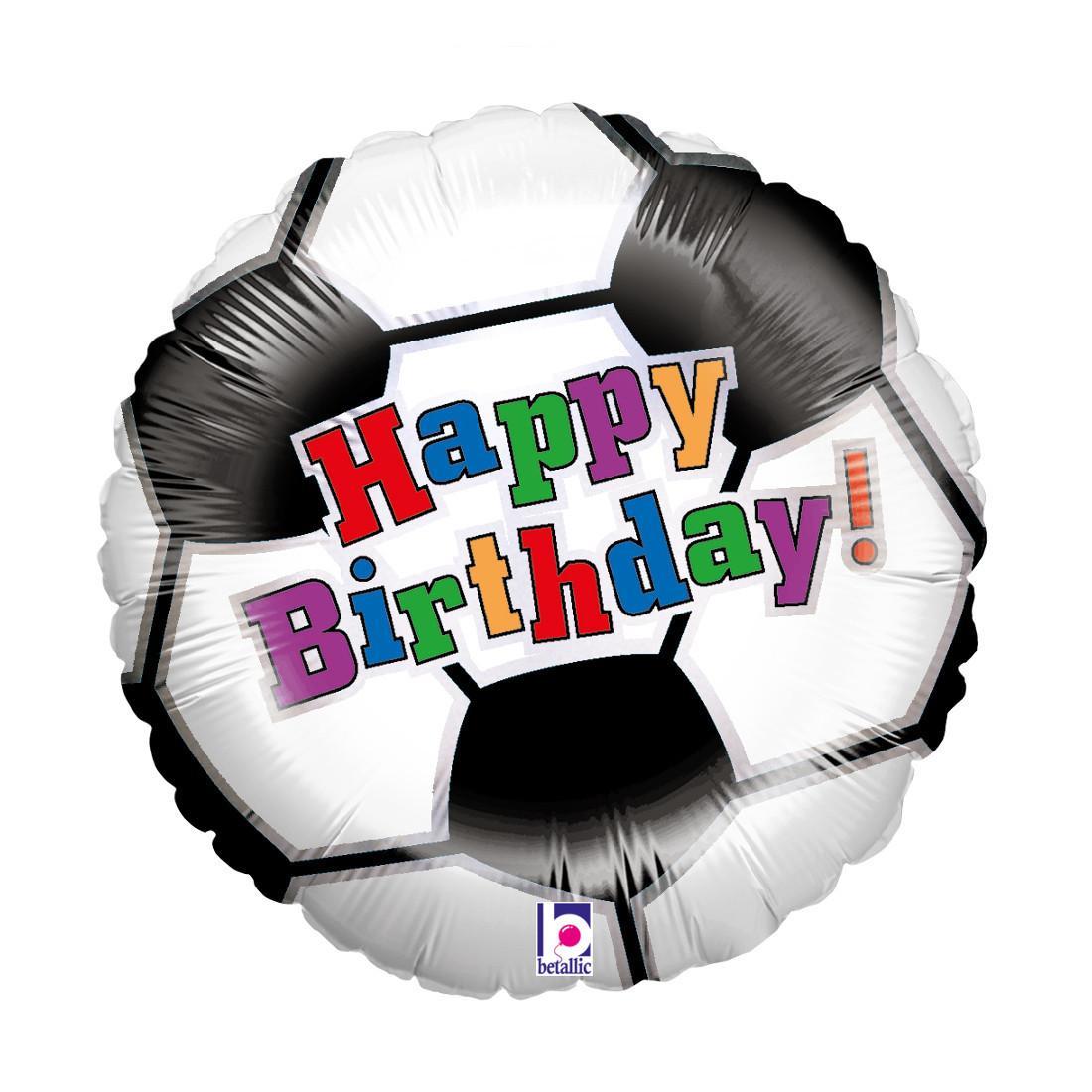 "BIRTHDAY FUSSBALL/SOCCER 46 CM/18 """