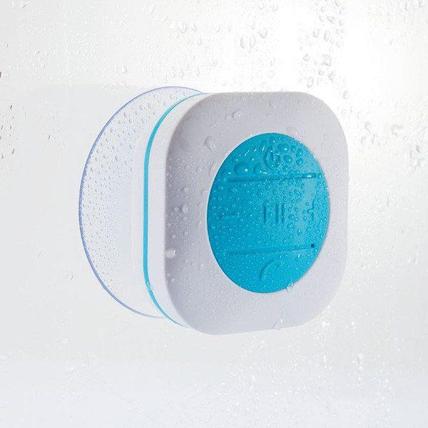 Bluetooth-Lautsprecher für die Dusche