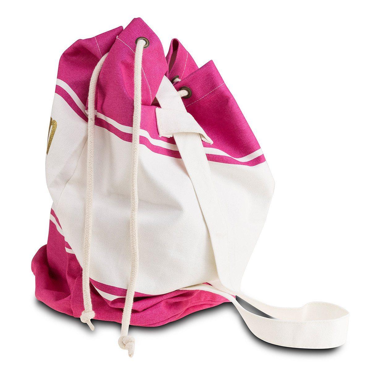 Bolso marinero de lona personalizado - Ideal para la playa