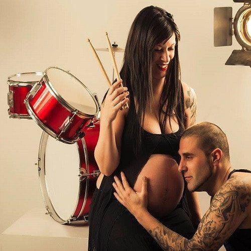 Book fotográfico para embarazadas en estudio - Barcelona
