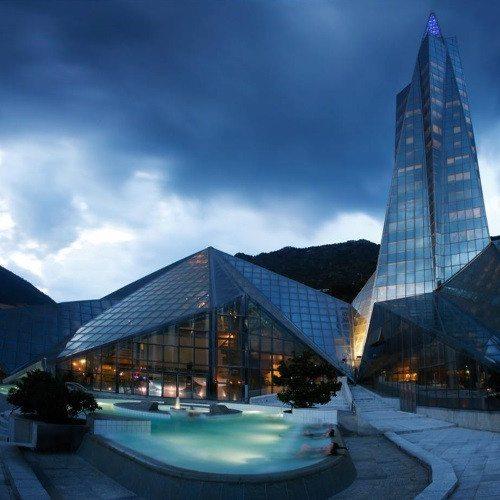 Caldea nocturno - Andorra