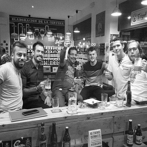 Cata de Cerveza con Maridaje para dos - Valencia