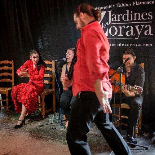Cena y Espectáculo Flamenco en Jardines de Zoraya - Granada