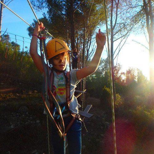 Circuito de aventura en los árboles - Valencia