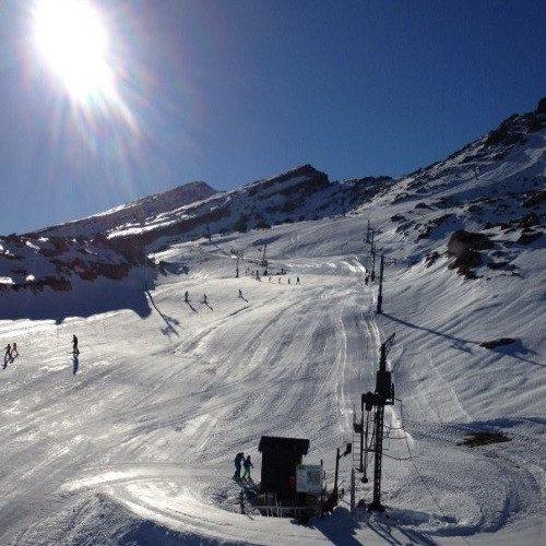 Clase de Esquí en pareja - Cantabria