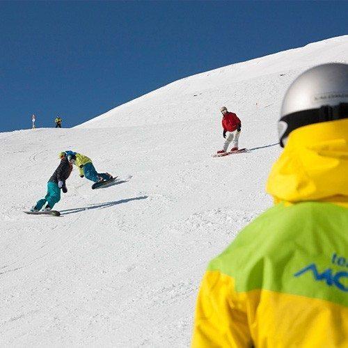 Clase de Snow con equipo Sport - Granada