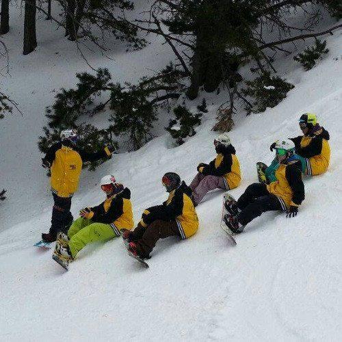 Clase de Snow en grupo - Gerona