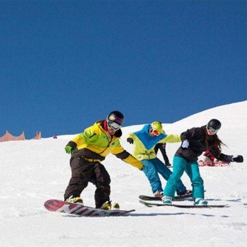 Clase grupal de Snow para dos - Granada