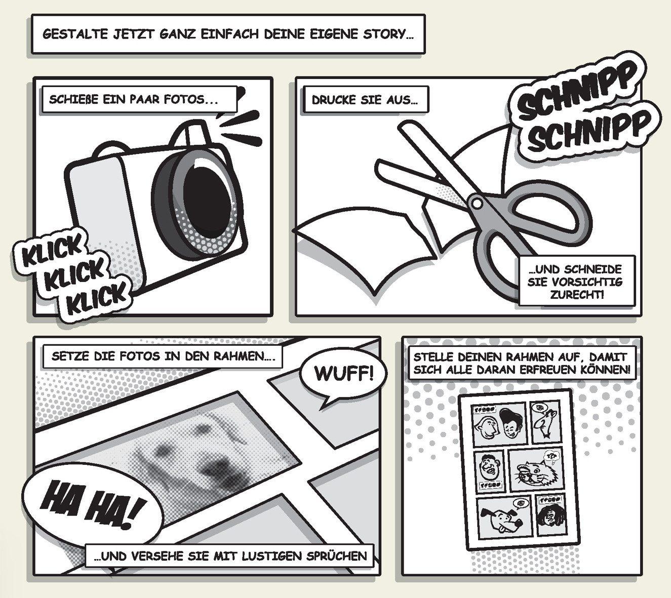 Comic Fotorahmen