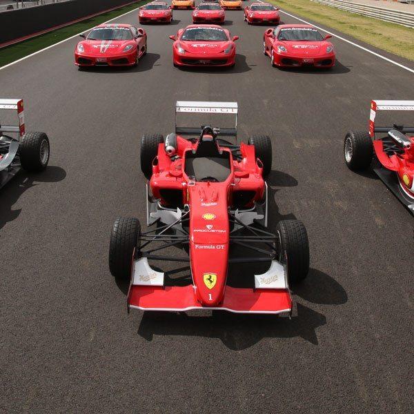 Conduce un Ferrari F430 F1 y un Fórmula 3 - Cheste