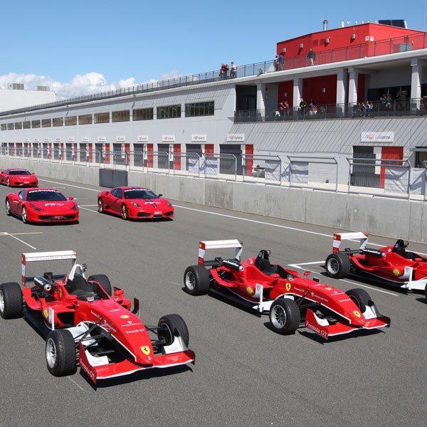 Conduce un Ferrari F430 F1 y un Fórmula 3 - Kotarr