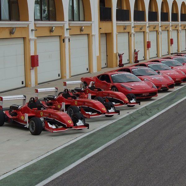 Conduce un Ferrari F430 F1 y un Fórmula 3 - Monteblanco