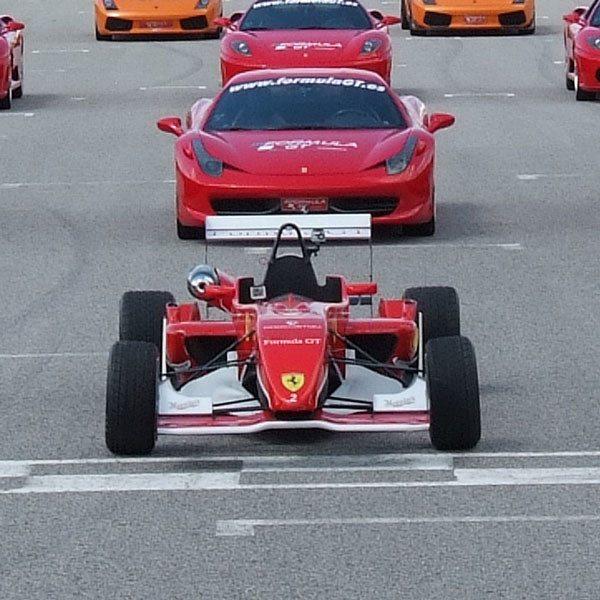 Conduce un Ferrari F430 F1 y un Fórmula 3 - Motorland Escuela