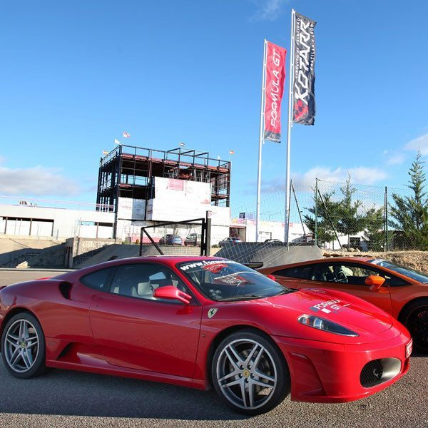 Conduce un Ferrari F430 F1 y un Lamborghini Gallardo - Los Arcos