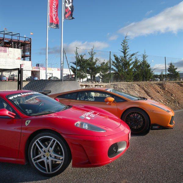Conduce un Ferrari F430 F1 y un Lamborghini Gallardo - Motorland