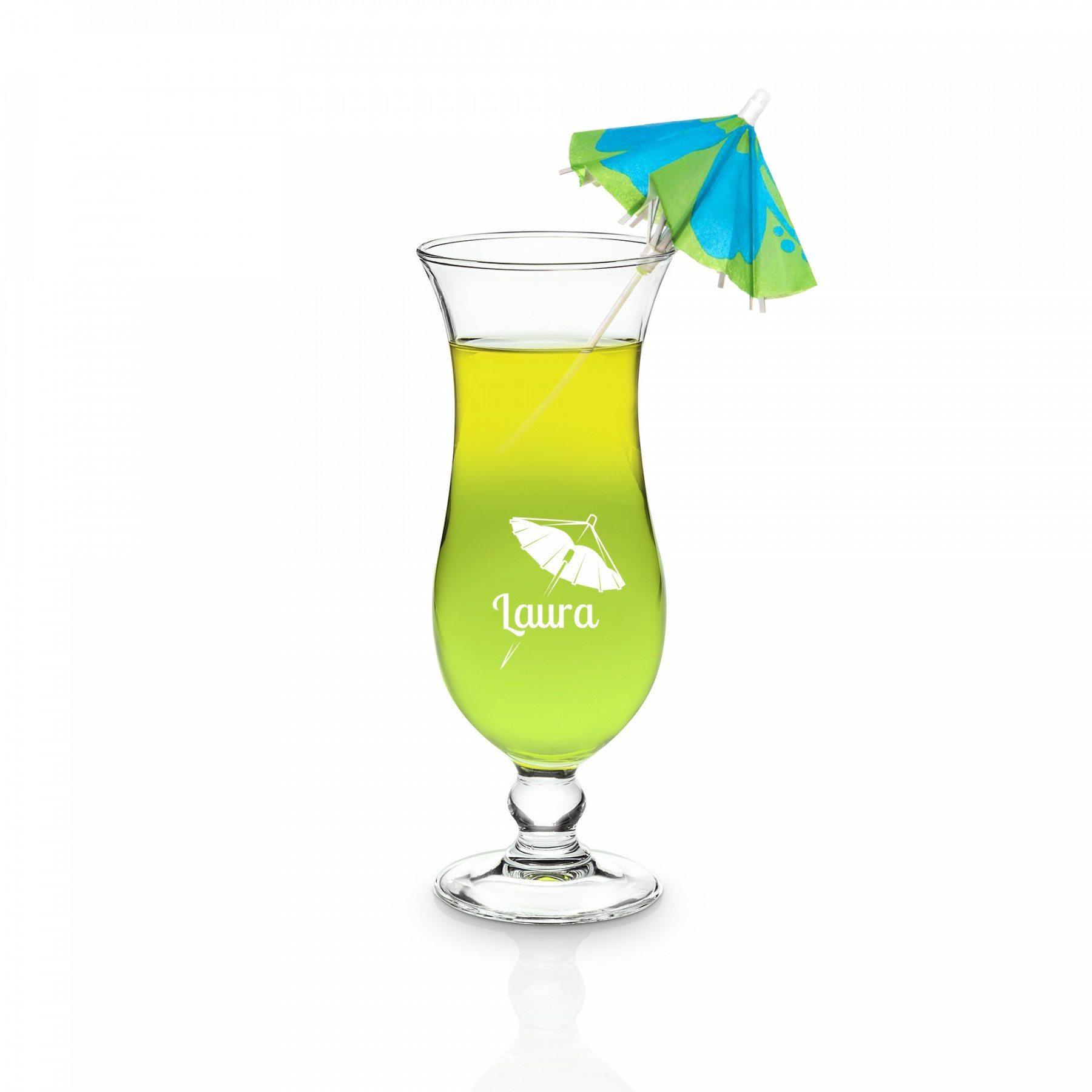 Copa de cocktail con grabado – el alma de todas las fiestas