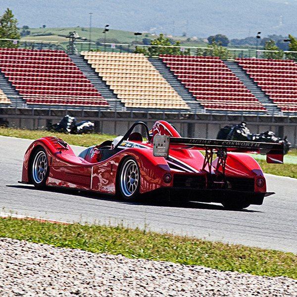 Copilotaje con Palmer Jaguar JP1 de competición - Los Arcos