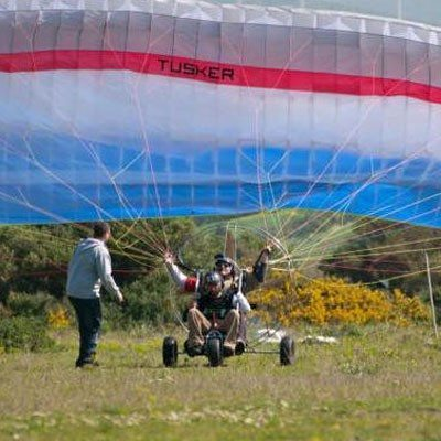 Curso de iniciación al vuelo con Parapente - Málaga
