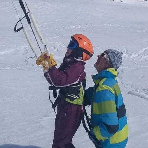 Curso de Iniciación Kite Esquí - Huesca