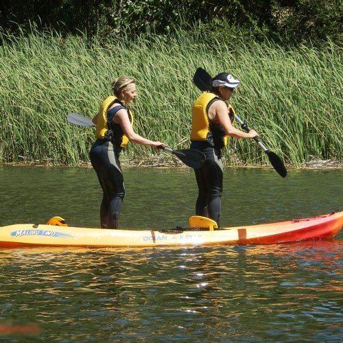 Curso de kayak doble - Ciudad Real