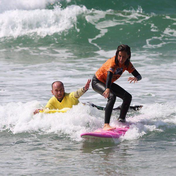 Curso de surf en pareja - Cantabria