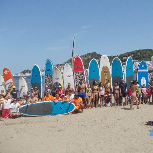 Curso y excursión con guía de Paddle Surf - Girona
