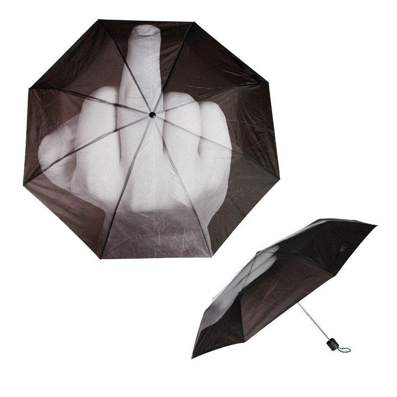 """Der """"Du kannst mich mal!""""-Regenschirm"""