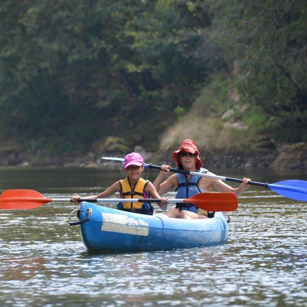 Descenso del río Sella en canoa - Asturias