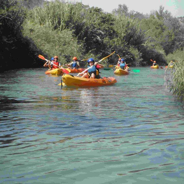 Descenso en piragua en el río Cabriel - Valencia