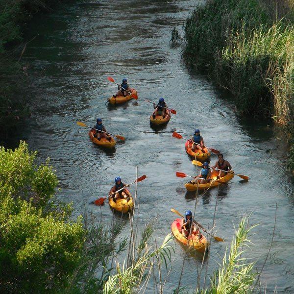 Descenso en piragua para principiantes en el río Cabriel - Valencia