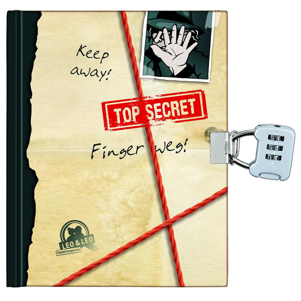 Detektivbuch mit Schloss