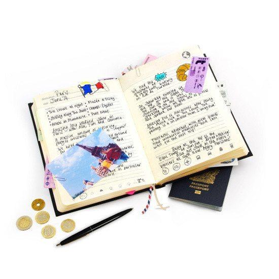 Diario de viajes - Para trotamundos con ganas de escribir0