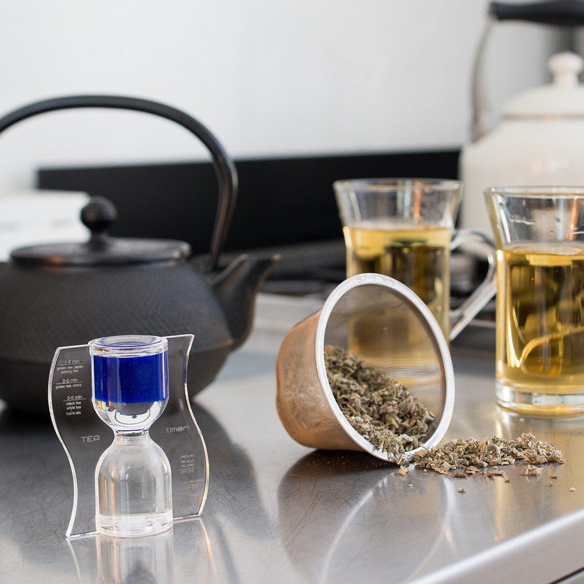 Die paradoxe Tee-Uhr