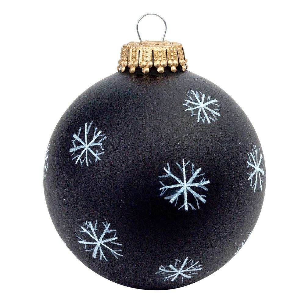 DIY-Weihnachtskugel zum Bemalen